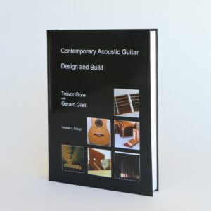 Contemporary Acoustic Guitar Design volume, first edition