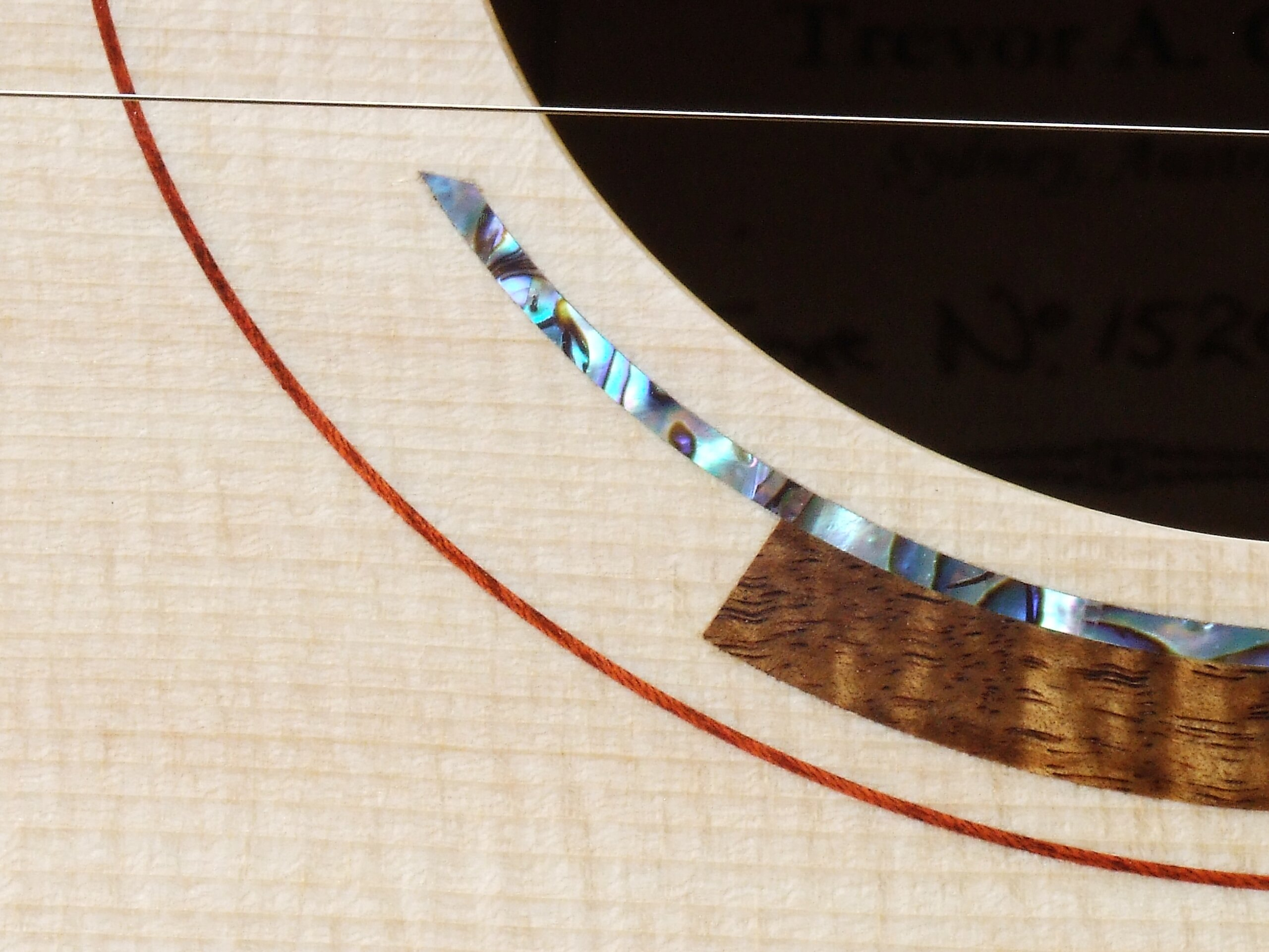 Detail of an art-deco inspired rosette